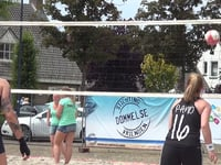 Impressie Beach volleybal Dommelen